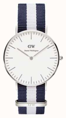 Daniel Wellington Unisex Classic Glasgow 36mm Stainless Steel DW00100047