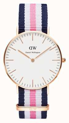Daniel Wellington Unisex Classic Southampton 36mm Rose Gold DW00100034