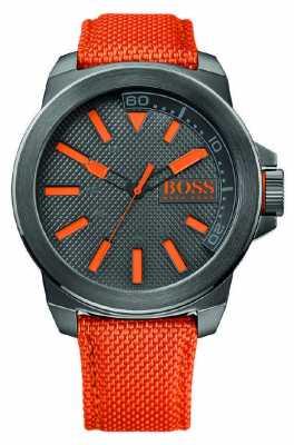 Hugo Boss Orange Mens New York Watch With Orange Strap 1513010