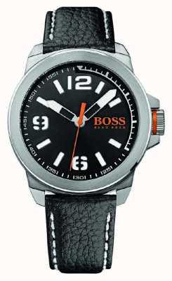 Hugo Boss Orange Mens New York Classic Watch On Leather 1513151