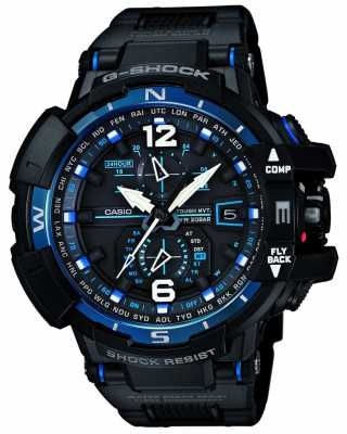 Casio Premium G-Shock Radio Controlled Compass Blue GW-A1100FC-1AER