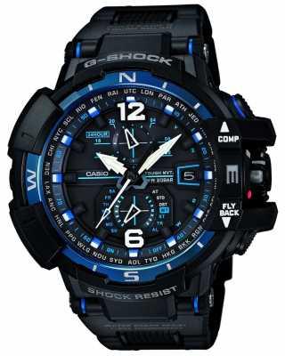 Casio Premium G-Shock Radio Controlled Compass Blue GW-A1100FC-1AER