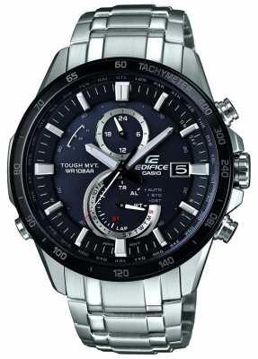 Casio Mens Edifice, Radio, Steel, Black Dial Watch EQW-A1400DB-1AER
