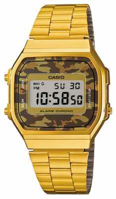 Casio Classic Alarm Chronograph Watch A168WEGC-5EF