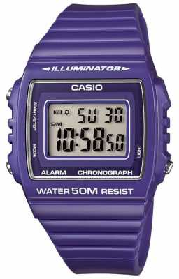 Casio Classic Collection Alarm Watch W-215H-6AVEF
