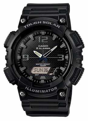 Casio Mens Solar, Illuminator, Black AQ-S810W-1A2VEF