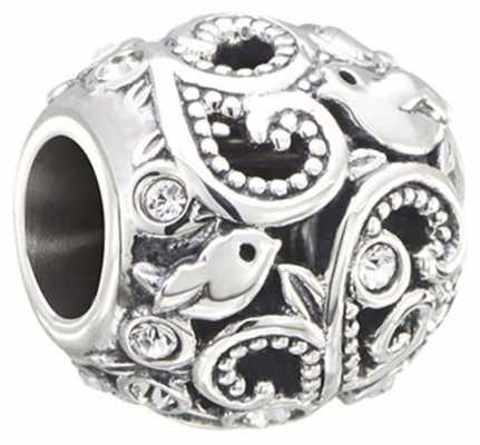 Chamilia Flourish - Birds and Vines - Sterling Silver with Swarovski Crystal 2025-1399