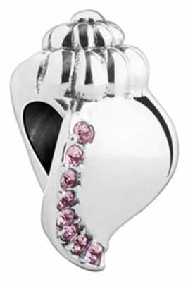 Chamilia Ocean Sounds - Conch - Sterling Silver with Light Amethyst Swarovski Crystal 2025-1411