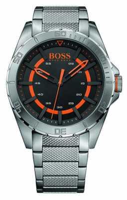 Hugo Boss Orange Mens Stainless Steel Black Dial 1513202