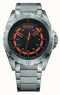 Hugo Boss Orange Mens Stainless Steel Black Dial 1513202