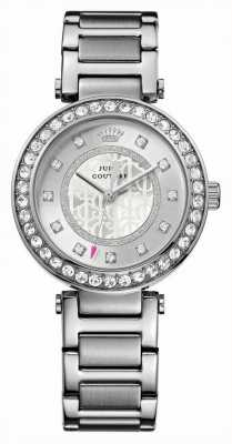 Juicy Couture Womens Stainless Steel Silver Dial 1901150