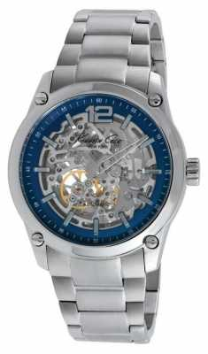 Kenneth Cole Mens Stainless Steel Automatic Blue Dial KC9380