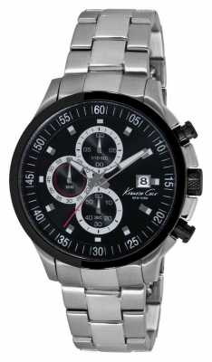 Kenneth Cole Mens Stainless Steel Chronograph KC9384