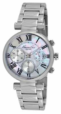 Kenneth Cole Womens Stainless Steel Mother Of Pearl Dial KC4971
