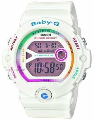 Casio Womens Baby-G White Digital BG-6903-7CER