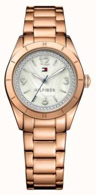 Tommy Hilfiger Womens PVD Rose Plated Hadley Watch 1781553