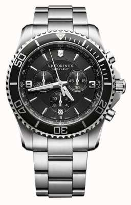Victorinox Swiss Army Mens Maverick Chronograph Stainless Steel 241695