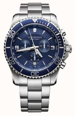 Victorinox Swiss Army Mens Maverick Chronograph Stainless Steel 241689