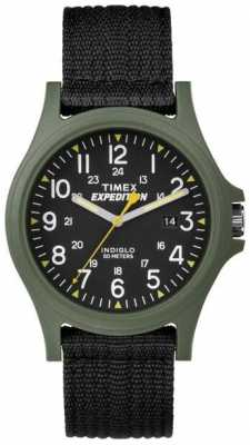 Timex Mens Expedition Acadia Scout Green Case TW4999800