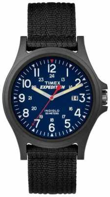 Timex Mens Expedition Acadia Scout Blue Dial TW4999900