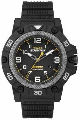 Timex Mens Field Shock Black Strap TW4B01000