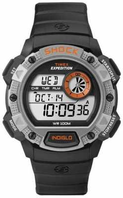 Timex Indiglo Expedition Alarm Chronograph Watch T49978