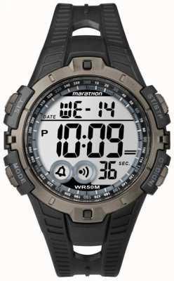 Timex Mens Indiglo Marathon Alarm Chronograph T5K802