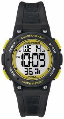 Timex Marathon Digital Rubber Strap Yellow TW5K84900