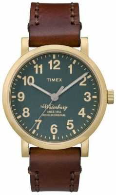Timex Mens The Waterbury Green Dial TW2P58900
