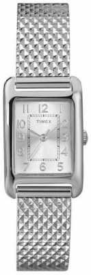 Timex Ladies Rectangular Bracelet Watch T2P303