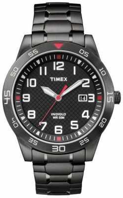 Timex Mens Fieldstone Way Black IP TW2P61600