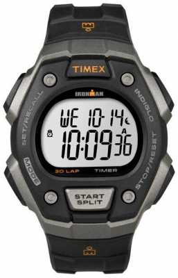 Timex Mens Ironman Classic 30 Digital Silver Case T5K821