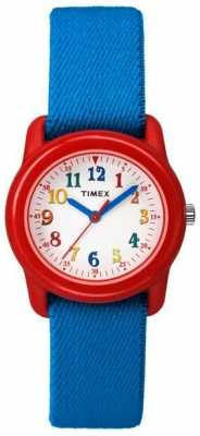 Timex Kidz Analogue Blue Fabric TW7B99500