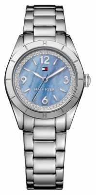 Tommy Hilfiger Womens Hadley Stainless Steel Blue Dial 1781551