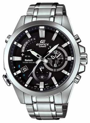 Casio Mens Edifice Bluetooth 4 Solar Powered Watch EQB-510D-1AER