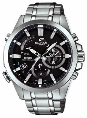 Casio Mens Edifice Bluetooth 4 Solar Powered Watch EQB-510D-1AER