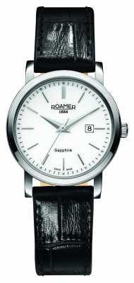 Roamer Womens Classic Line Black Leather Strap 709844412507