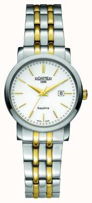 Roamer Classic Line | Two Tone Stainless Steel | white Dial 709844 47 25 70