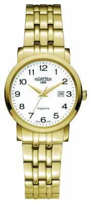 Roamer Womens Classic Line PVD Gold Plate 709844482670