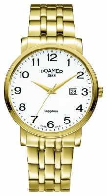 Roamer Mens Classic Line PVD Gold Plate 709856482670