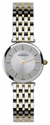 Michel Herbelin Womens Epsilon, Two Tone Watch 1045/BT12