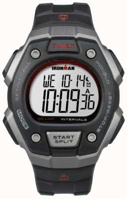 Timex Mens Ironman Classic 50 Black Resin TW5K85900