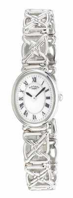 Rotary Womens Silver Bracelet LB20005/07
