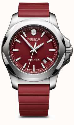 Victorinox Swiss Army I.N.O.X. Red Rubber Strap Mens 241719.1