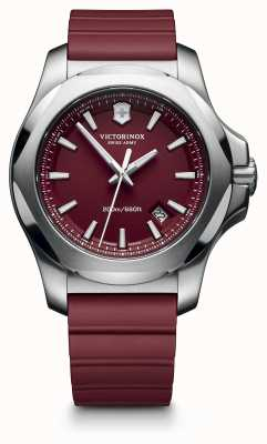 Victorinox Swiss Army I.N.O.X. Red Rubber Strap Mens EX-DISPLAY 241719.1 EX-DISPLAY