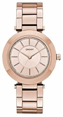 DKNY Womens Stanhope 2.0 PVDS Rose Gold Plated NY2287