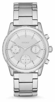 DKNY Womens Rockaway Stainless Steel NY2364