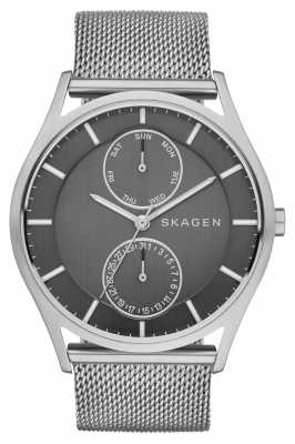 Skagen Mens Holst Refined Stainless Steel Mesh SKW6172