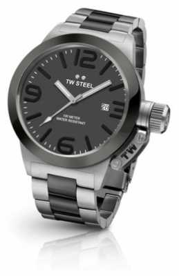 TW Steel Mens Canteen 45mm Two Tone Greydial CB201