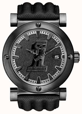 Harley Davidson Mens Black Label Ion-Plated Watch 78B131